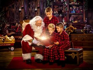 Santa Claus Photo Shoot WV