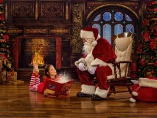 Santa Pictures Children Photographer WV