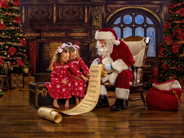Children's Private Portrait Session with Santa