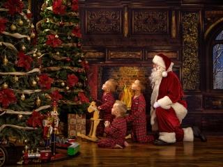 Santa Claus Experience Photos