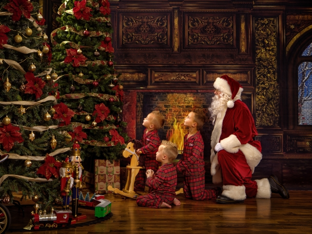 Santa Claus Experience Photos
