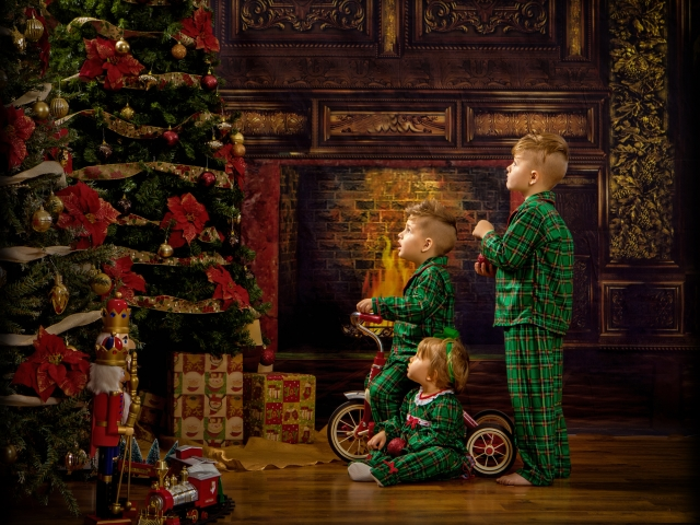 Children's Christmas Photographer Wheeling WV