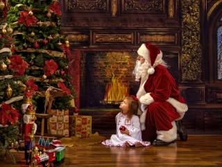 Santa Claus Pictures Private Session WV
