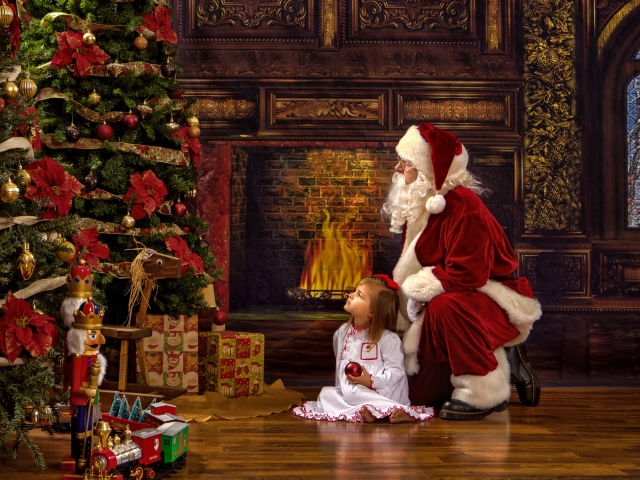 Santa Claus Pictures Private Session WV