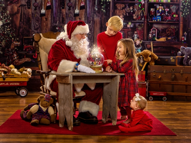 Magical Santa Pictures Ohio Valley