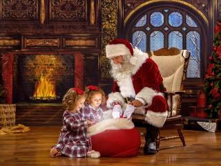 Unforgettable Santa Pictures Wheeling WV