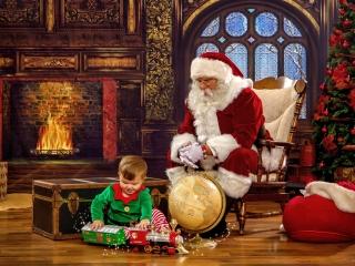 Santa Claus Experience Portrait WV