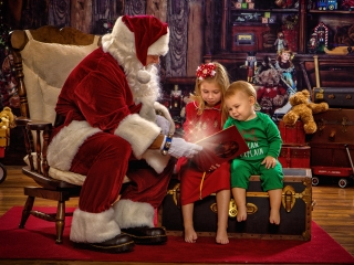 Santa Claus Photographer Ohio Valley