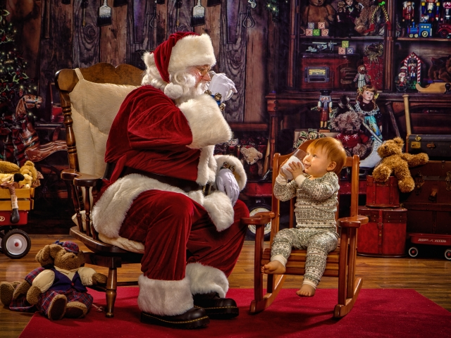 Interactive Santa Portrait Experience, Ohio Valley