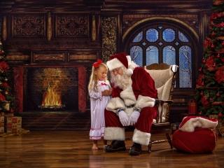 Santa Claus Experience Photos Wheeling WV