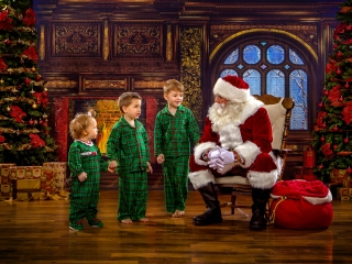 Kids Christmas Portraits, Wheeling WV