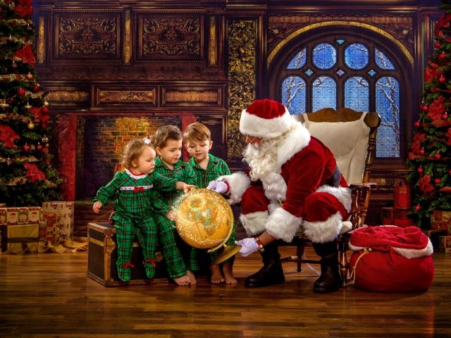 Santa Claus Portraits Wheeling WV