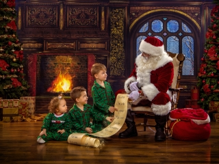 Christmas Photo Session Experience, Wheeling WV