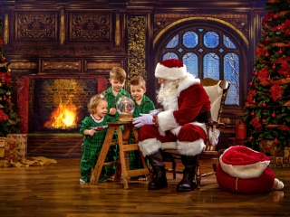 Interactive Santa Claus Photo Session, Ohio Valley