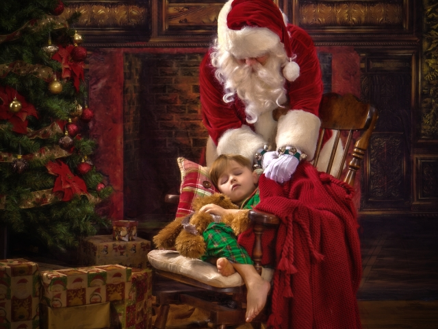 Unforgettable Christmas Santa Pictures WV
