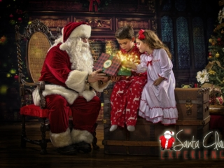 Children's Christmas Pictures with Santa Claus WV