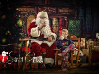 Christmas Pictures with Santa Claus WV