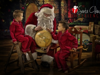 Santa Claus Photography Session WV