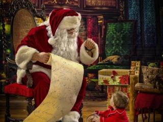 Santa Claus Private Photo Session WV