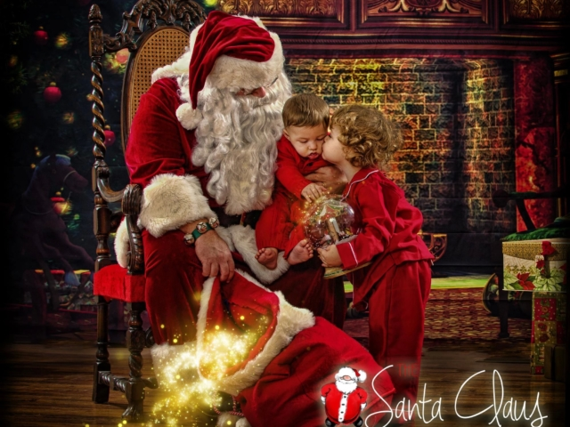 Santa Pictures Portrait Session WV