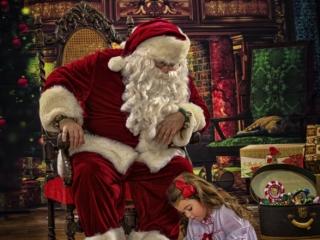 Santa Claus Pictures Wheeling WV
