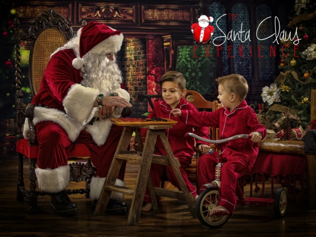Kids Christmas Pictures with Santa WV
