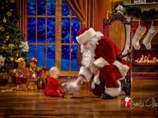 Interactive Santa Claus Photo Session WV